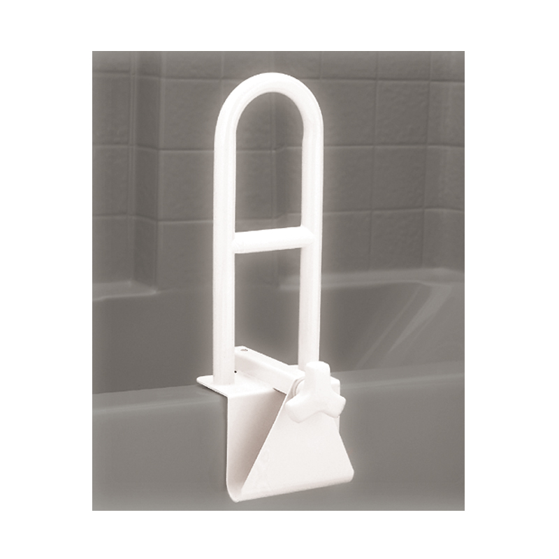 Tub Grab Bar   White Powder Coating